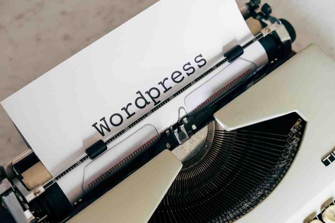 Comment utiliser wordpress.org