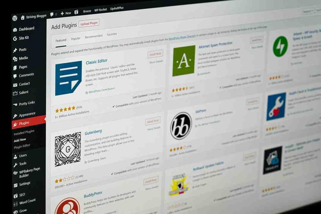 Wordpress comment revenir en arrière